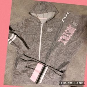 Justice 14 jacket and joggers